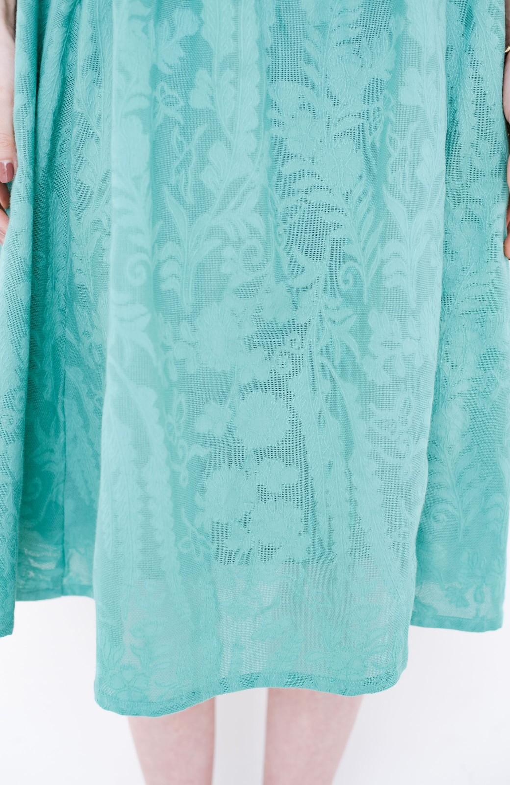 haco! 【コラボ3年目!】京都の浴衣屋さんと作った浴衣生地のスカート <グリーン>の商品写真6