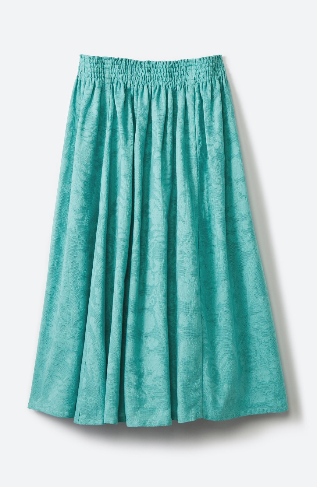haco! 【コラボ3年目!】京都の浴衣屋さんと作った浴衣生地のスカート <グリーン>の商品写真14