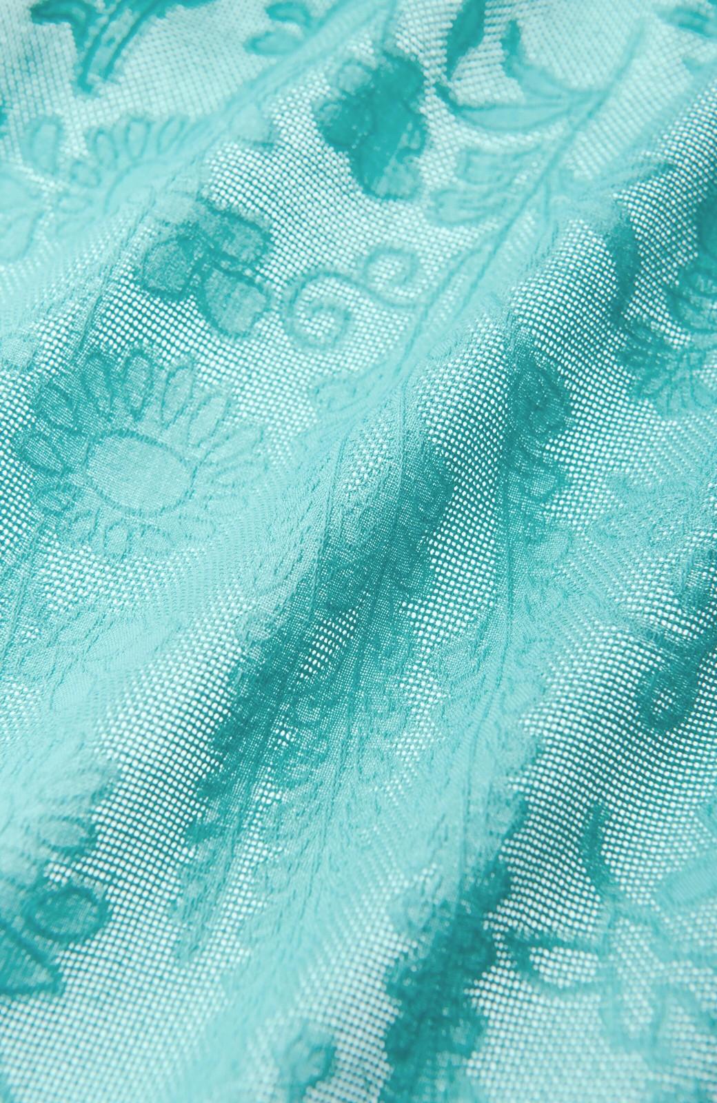 haco! 【コラボ3年目!】京都の浴衣屋さんと作った浴衣生地のスカート <グリーン>の商品写真4
