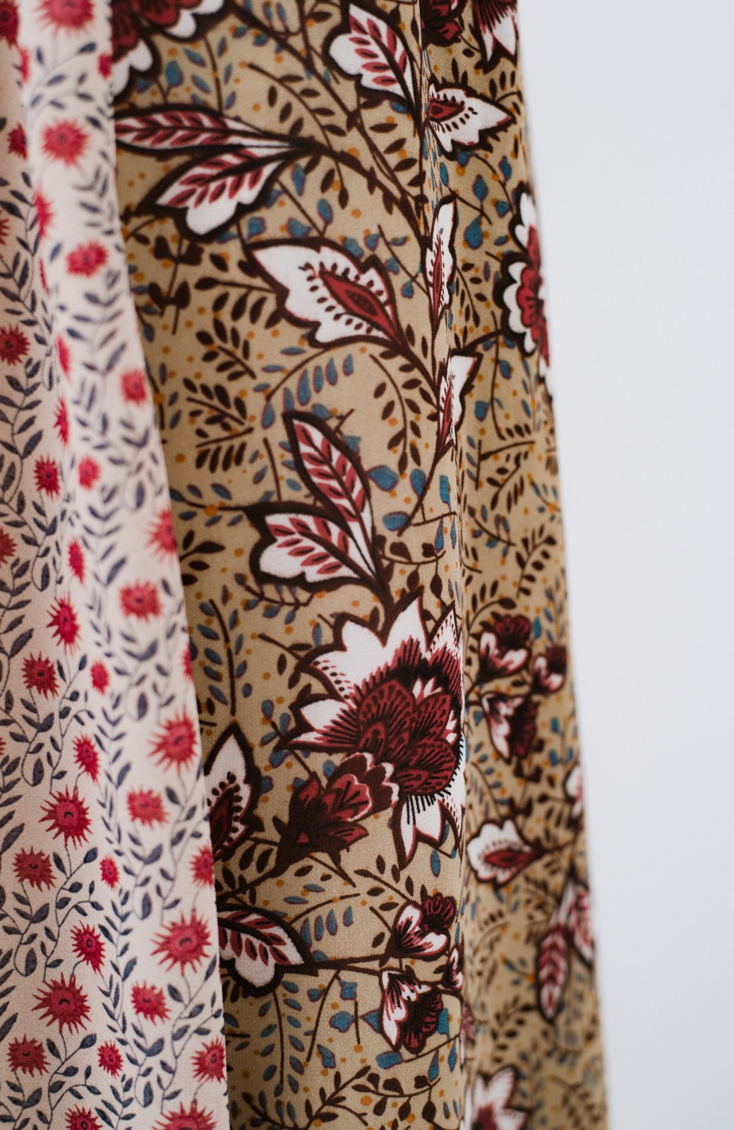 haco! 【洗濯機洗いOK】シンプルなトップスに合わせるだけでかわいくなれる MIX柄スカート <ベージュ系その他>の商品写真9