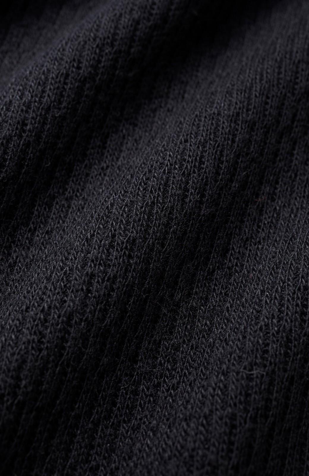 haco! ヘビロテしたくなるハニカム素材の今っぽデイリートップス <ブラック>の商品写真3
