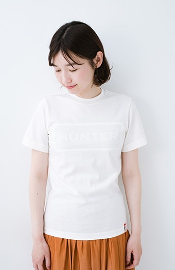 haco! HUNTER WOMENS オリジナルTシャツ <ホワイト>の商品写真