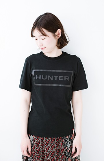 haco! HUNTER WOMENS オリジナルTシャツ <ブラック>の商品写真