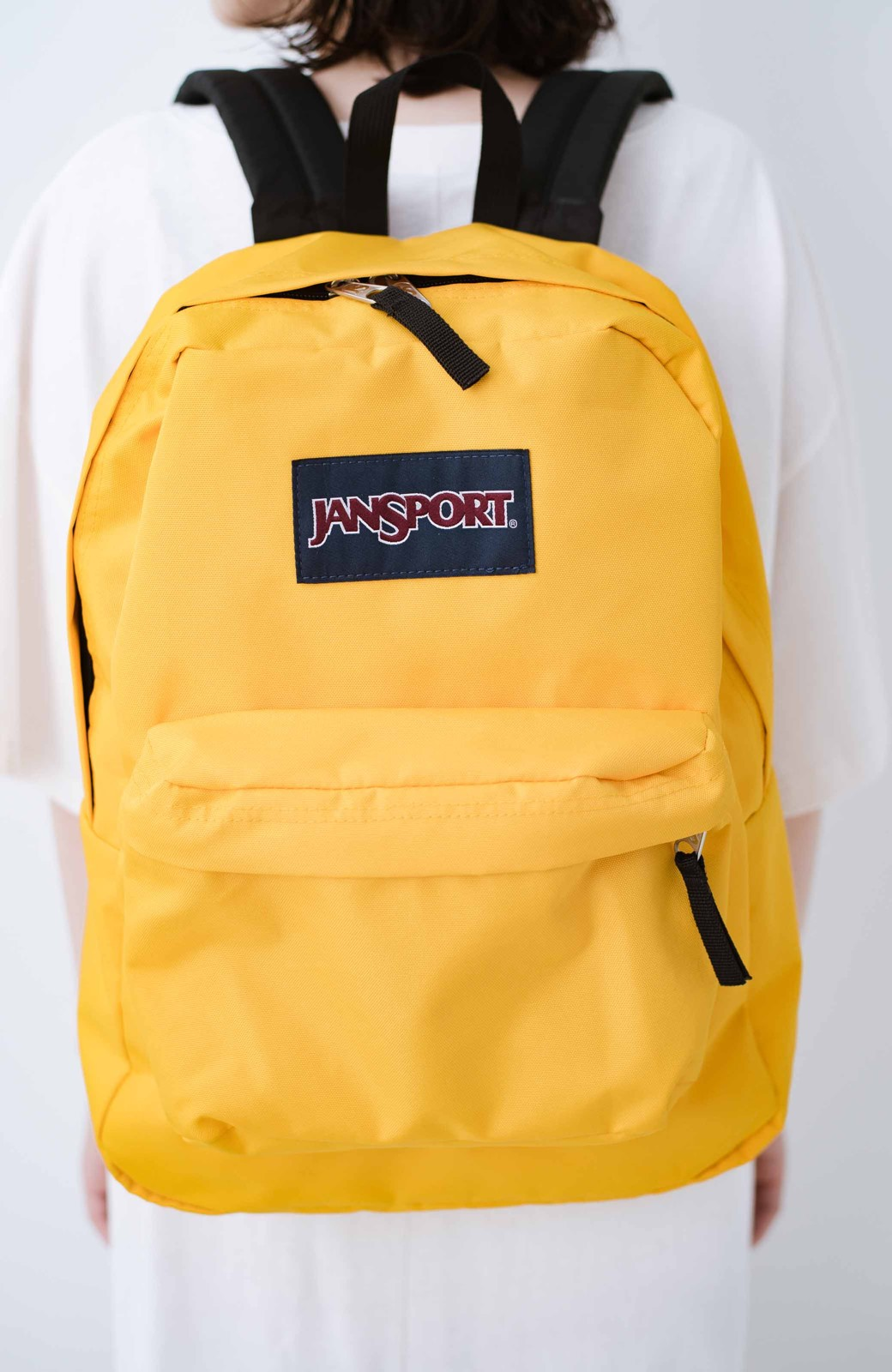 haco! 【新色追加】JANSPORT SUPERBREAK リュック <イエロー>の商品写真3