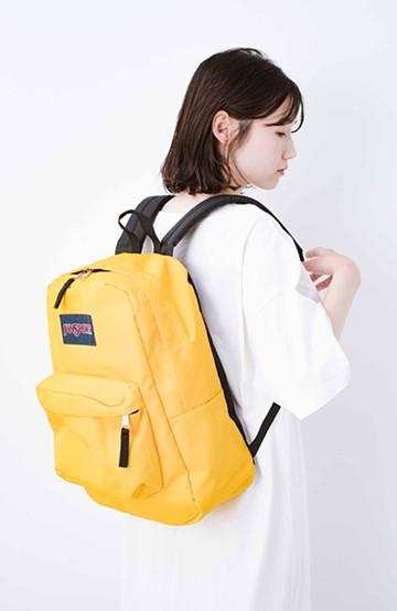 haco! 【新色追加】JANSPORT SUPERBREAK リュック <イエロー>の商品写真