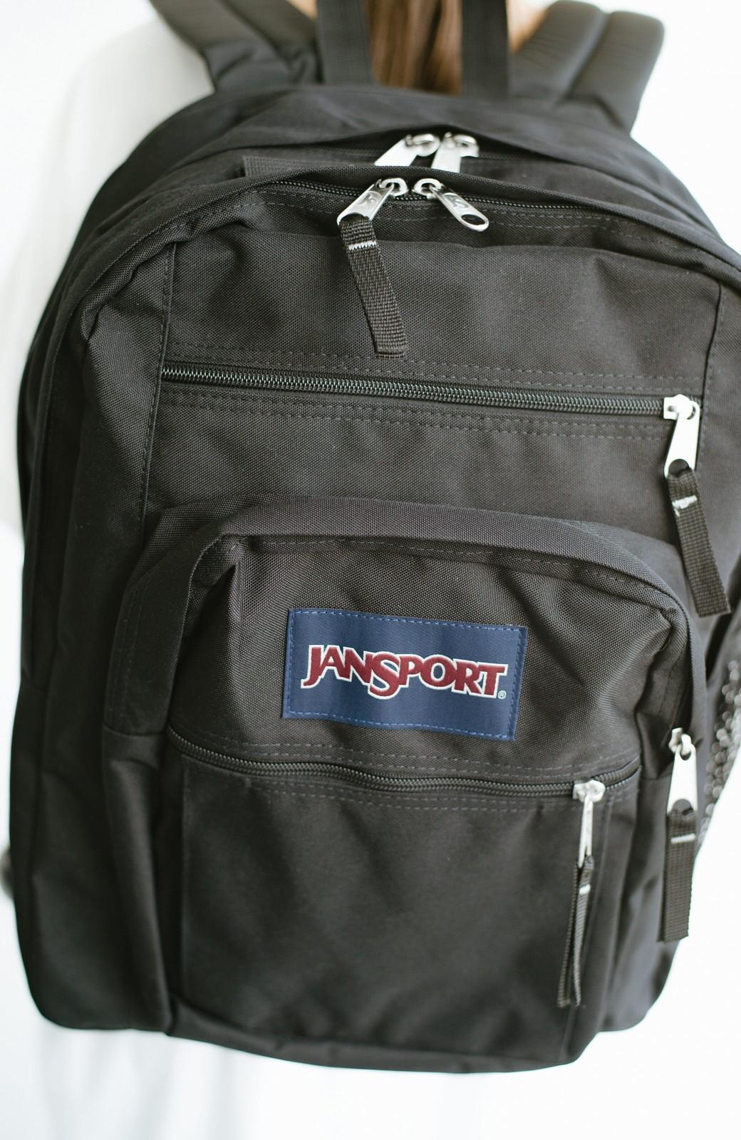 haco! JANSPORT NEW BIG STUDENT <ブラック>の商品写真2