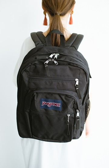 haco! JANSPORT NEW BIG STUDENT <ブラック>の商品写真