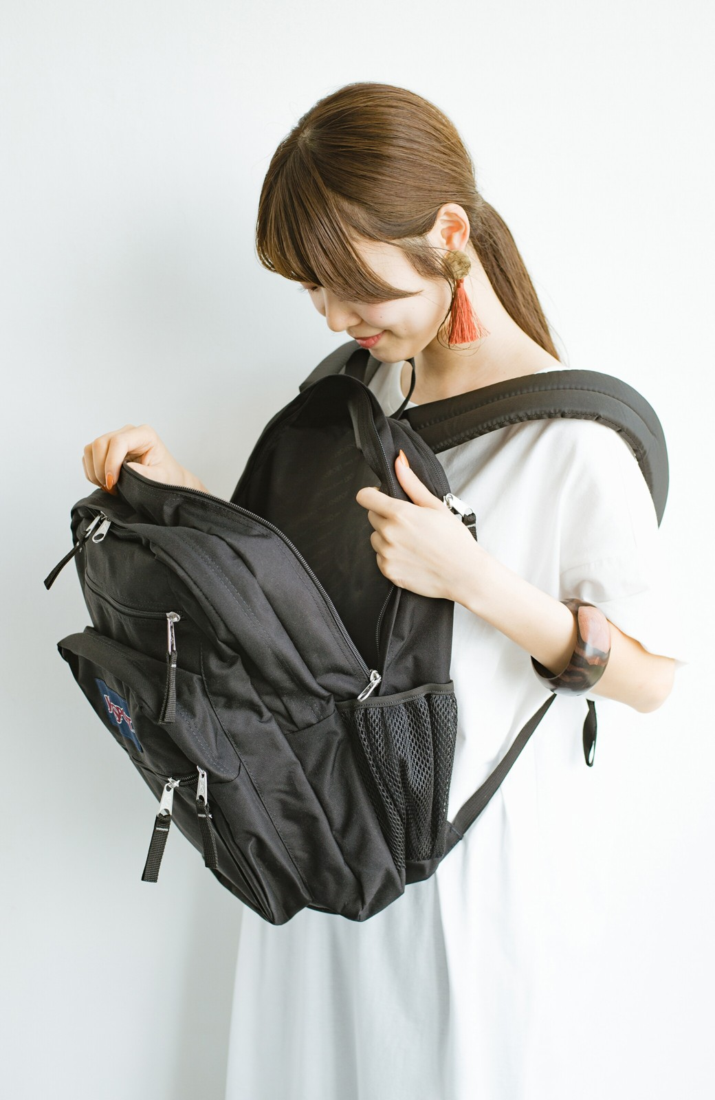 haco! JANSPORT NEW BIG STUDENT <ブラック>の商品写真10