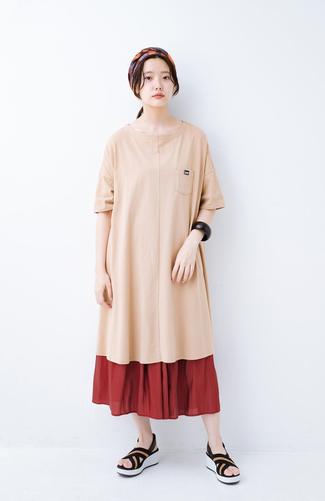 haco! 【人気のため新色追加!】1枚でも重ね着にも便利なキラキラ素材がかわいいロングスカート by laulea <ボルドー>の商品写真15