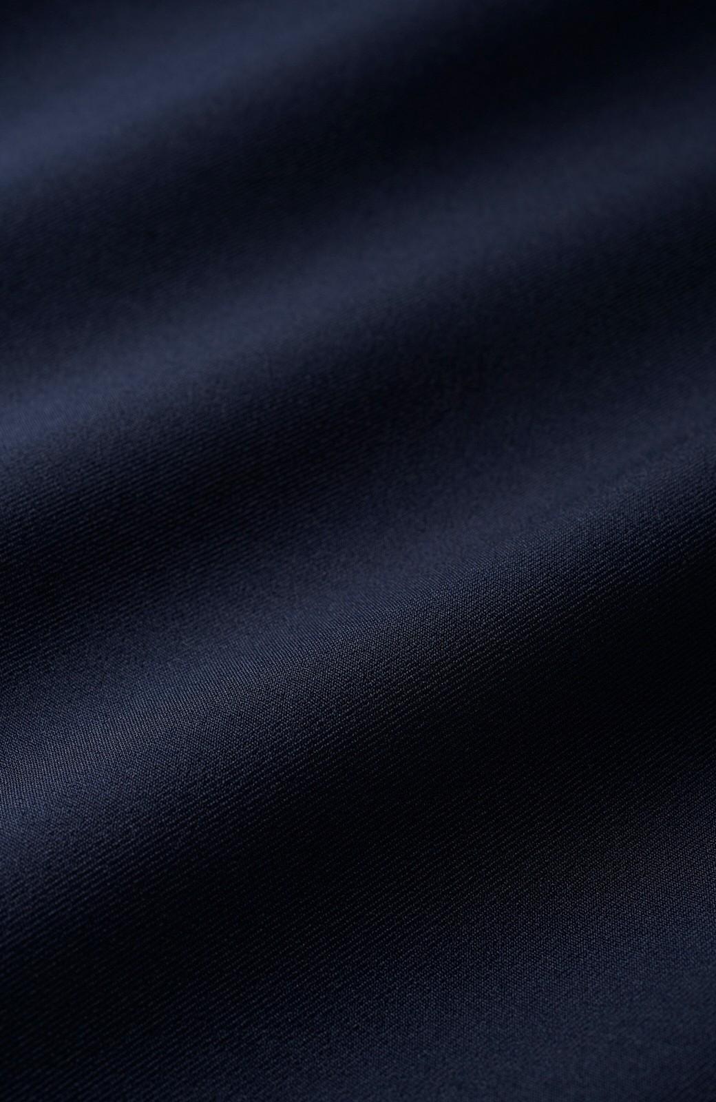 haco! 持っていると便利な 野暮ったくならないウエストベルト付きフォーマルジャケット <ダークネイビー>の商品写真2