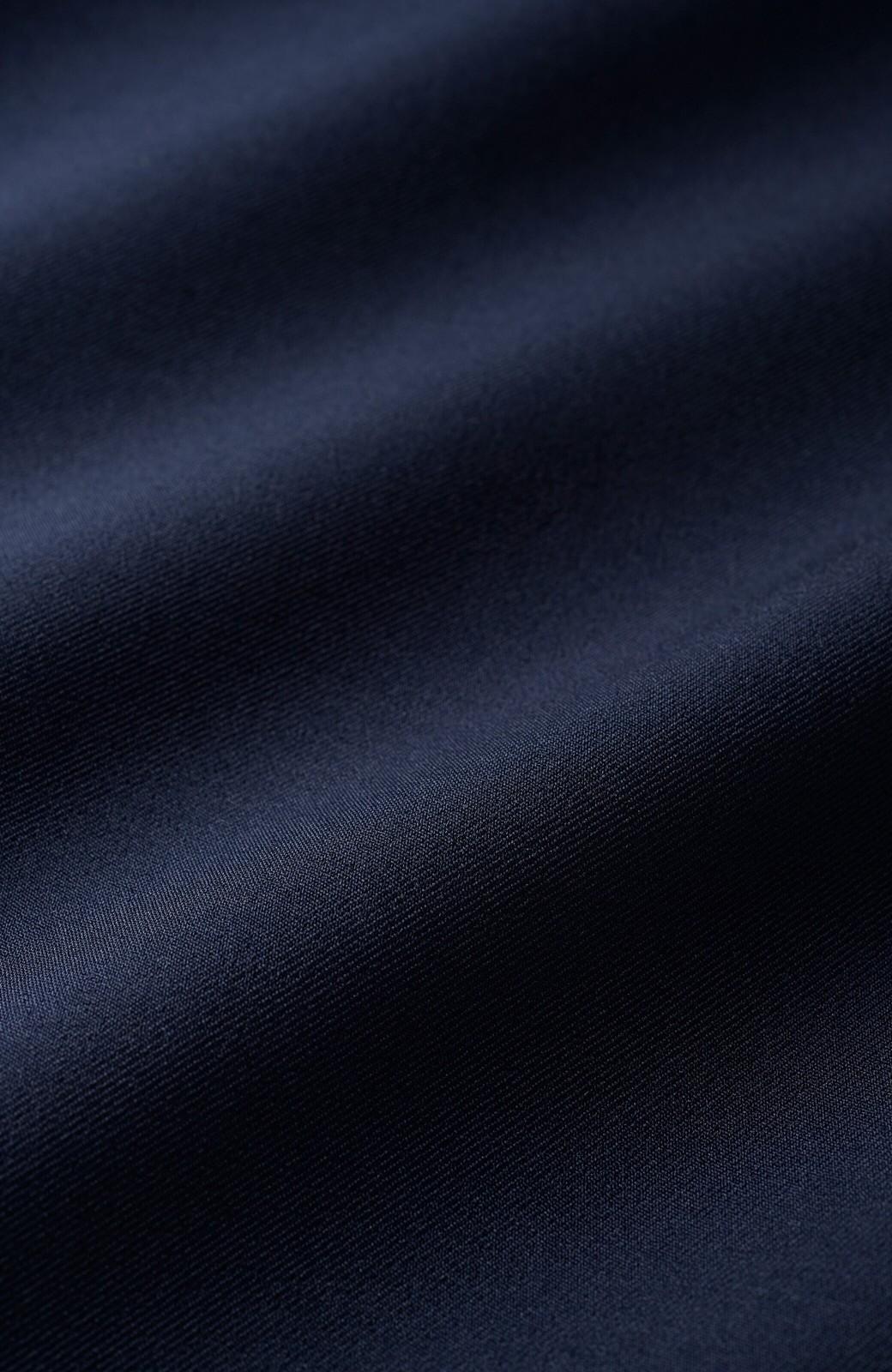 haco! 持っていると便利な 野暮ったくならないきれいめタイトスカート <ダークネイビー>の商品写真2