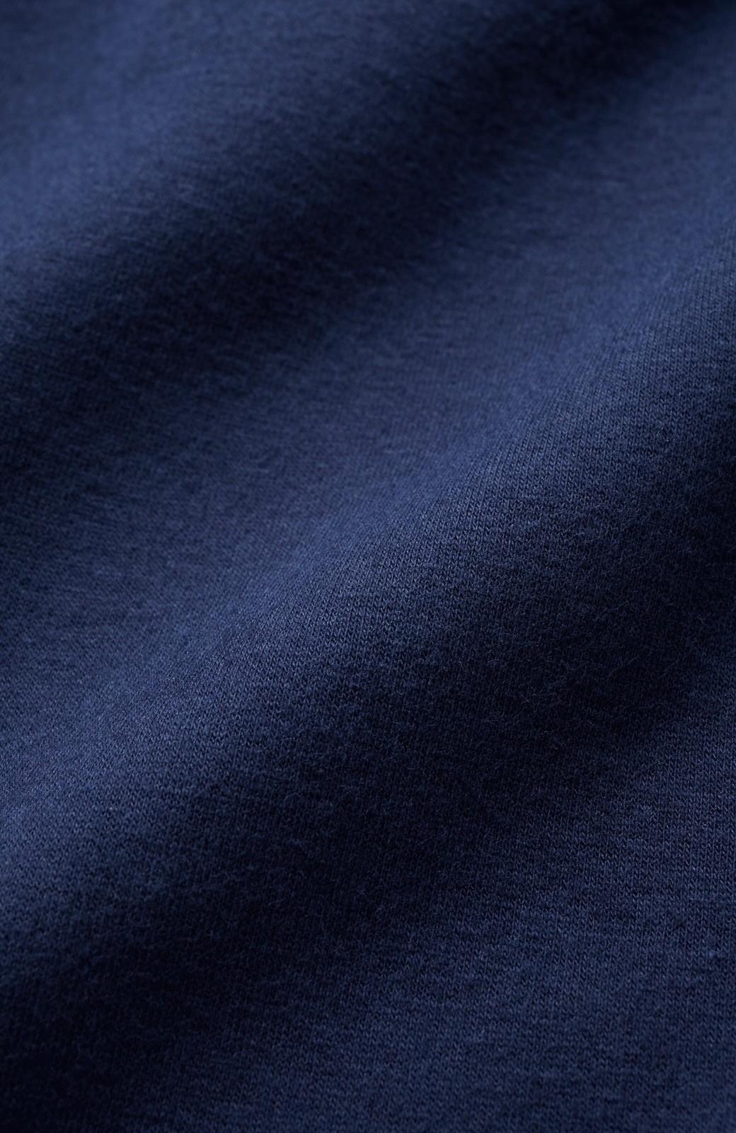 haco! Tシャツに羽織ってもきちんと見える!ゆるシルエットが楽ちんなカットソージャケット <ネイビー>の商品写真3