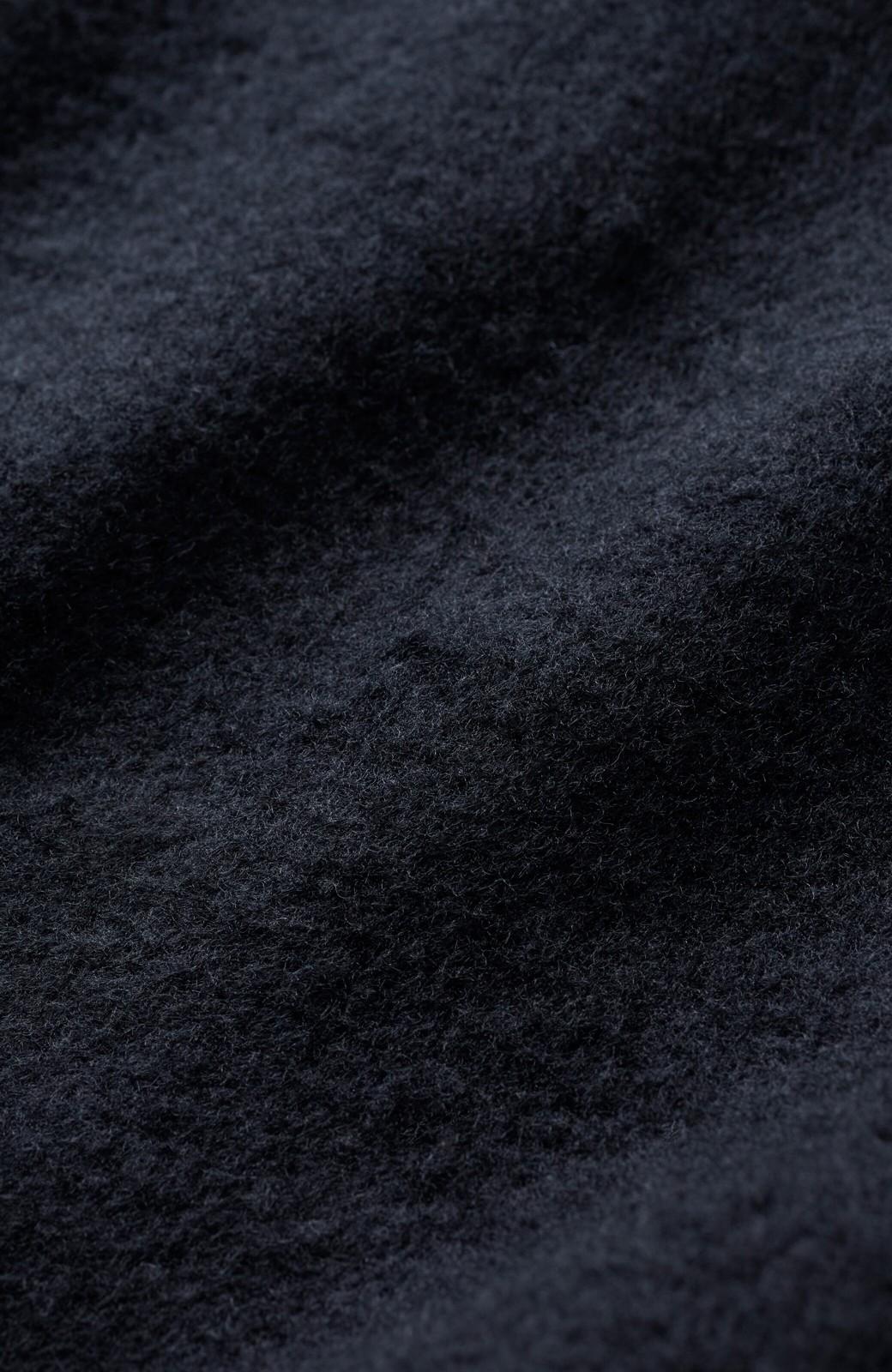haco! 【スザンヌさんコラボ】ペプラムシルエットのスウェットパーカーワンピース by LOVE&PEACE PROJECT <ブラック>の商品写真5