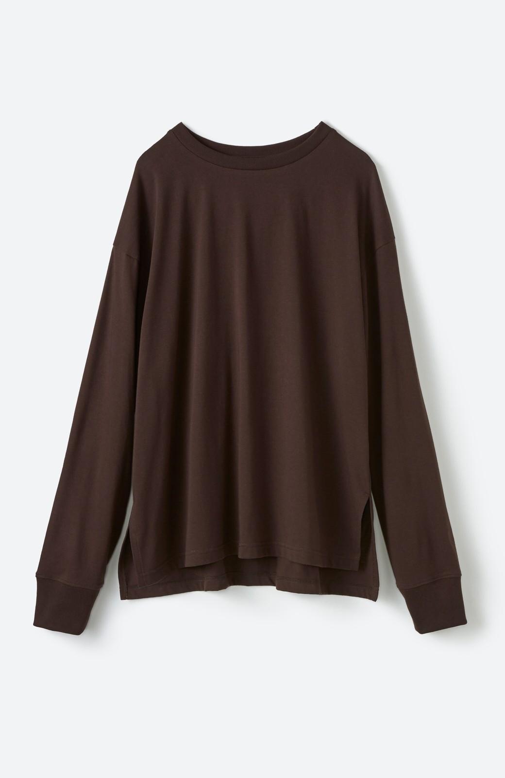 haco! 【高橋愛さんコラボ】ニットジャンパースカートとロングTシャツセット by LOVE&PEACE PROJECT <アイボリー>の商品写真10