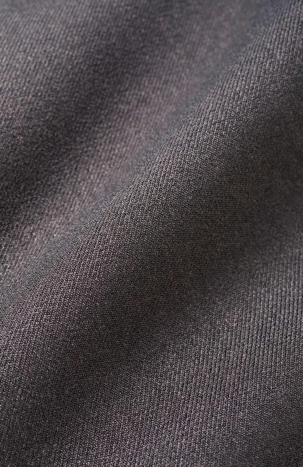 haco! きちんと見えてじゃぶじゃぶ洗える便利なワイドパンツ <ブラック>の商品写真4