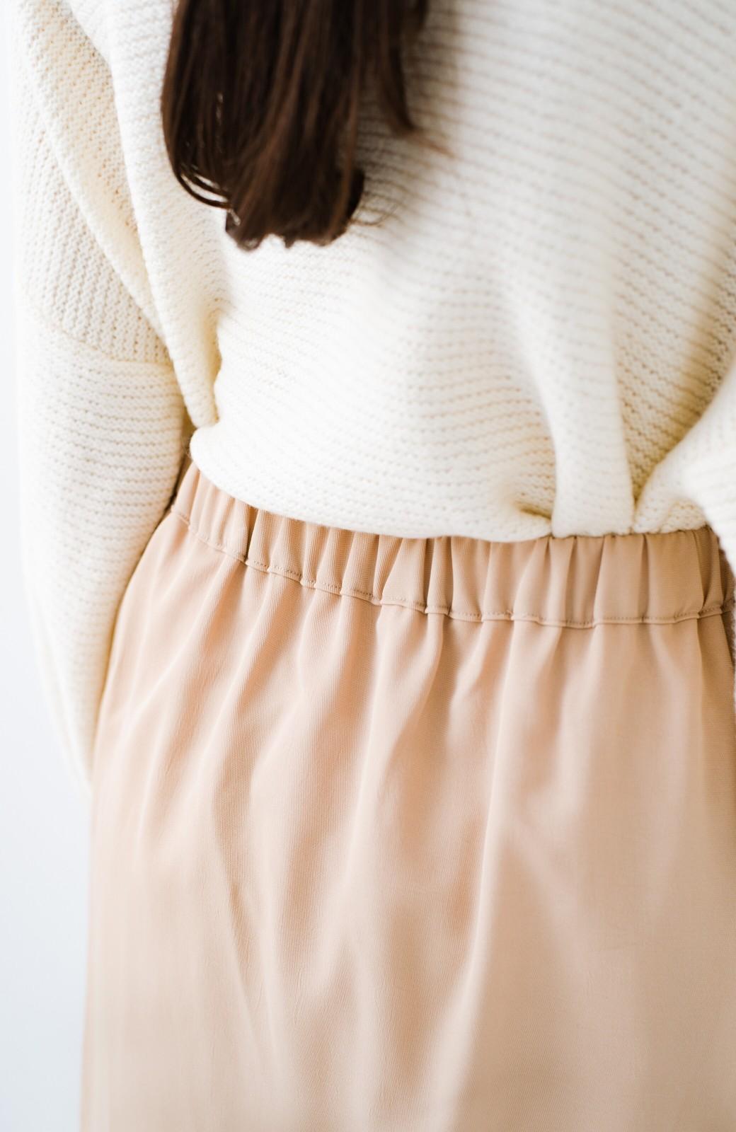 haco! 【旅の救世主】裏も表も重ね着も!着こなし自由自在なチュールリバーシブルスカート <ベージュ系その他>の商品写真15