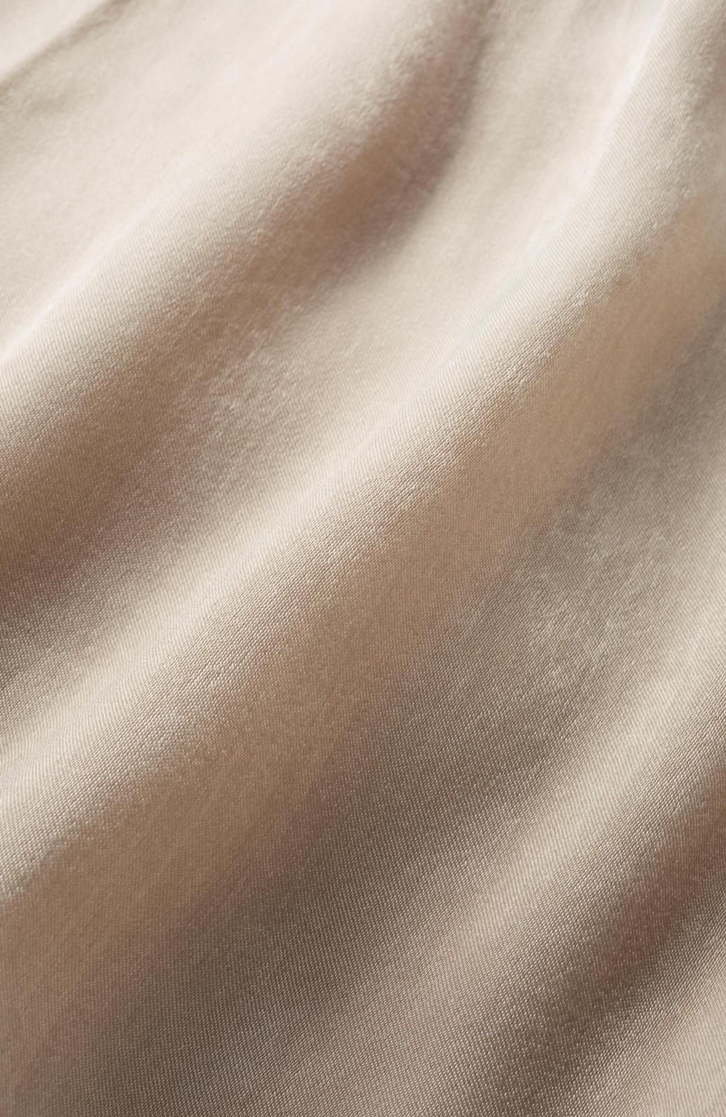 haco!  1枚でかわいいのはもちろん ワンピースとの重ね着にも便利なプリーツスカート <ライトグレー>の商品写真3