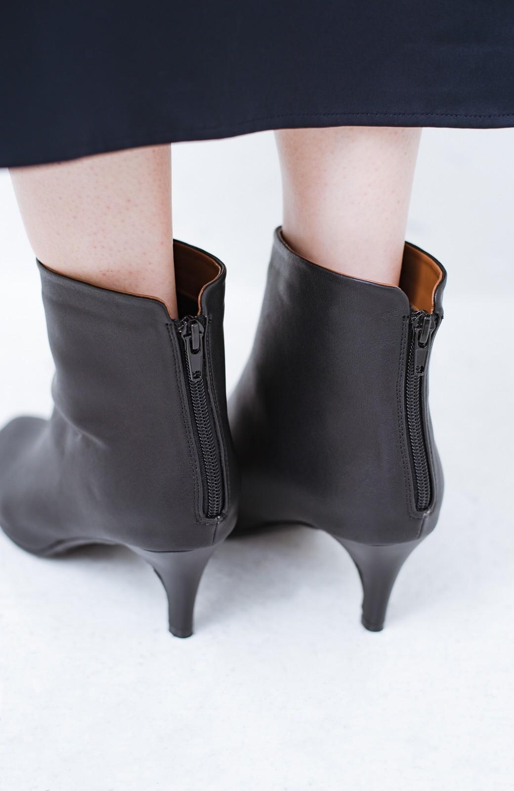haco! これを履いたらパッと女っぽくなれちゃう便利なショートブーツ <ブラック>の商品写真9