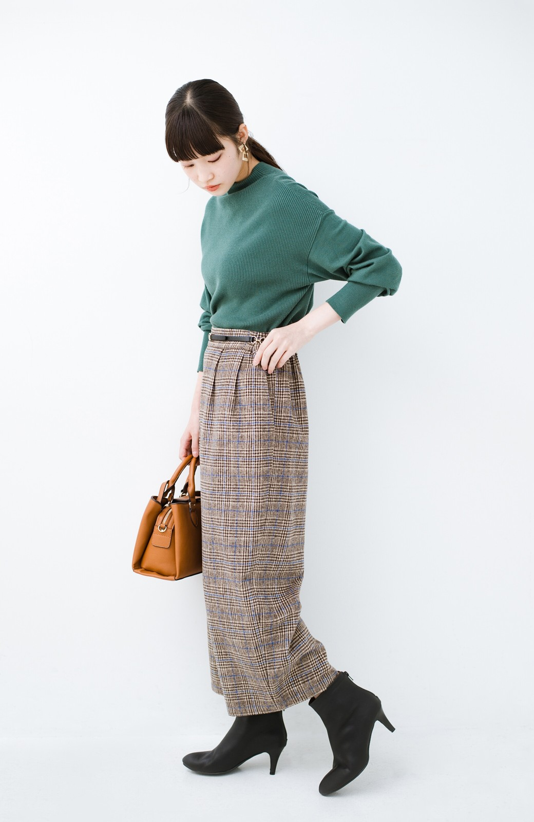 haco! これを履いたらパッと女っぽくなれちゃう便利なショートブーツ <ブラック>の商品写真18
