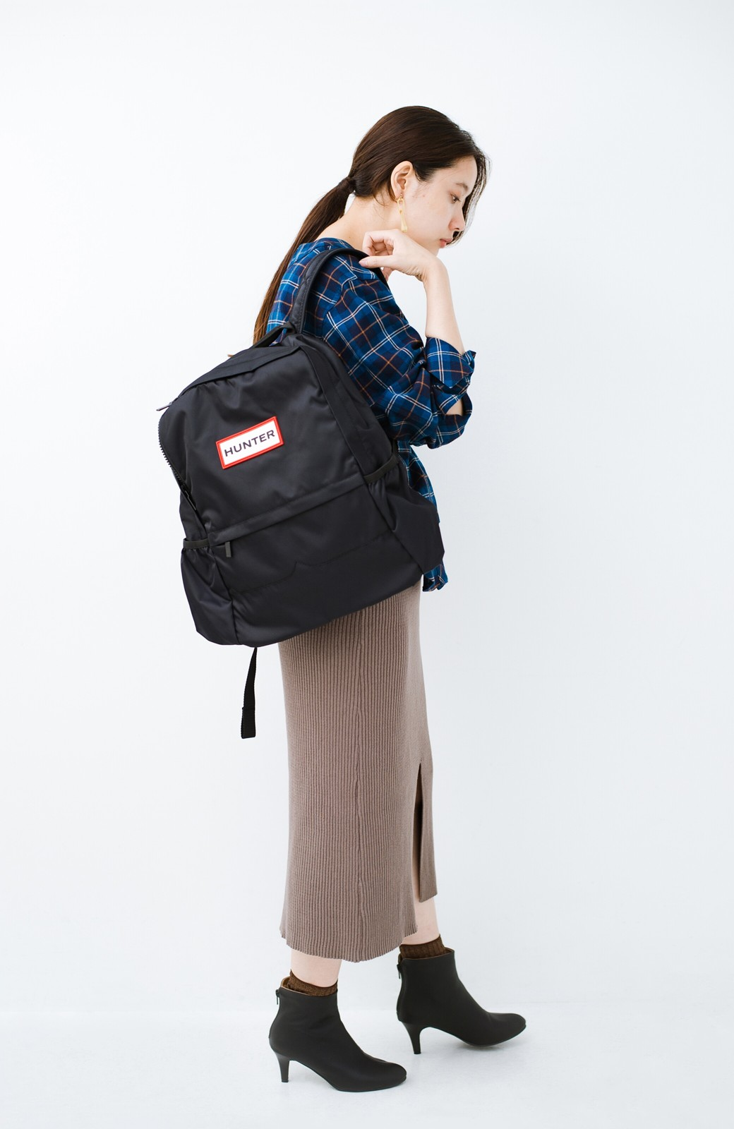 haco! これを履いたらパッと女っぽくなれちゃう便利なショートブーツ <ブラック>の商品写真19