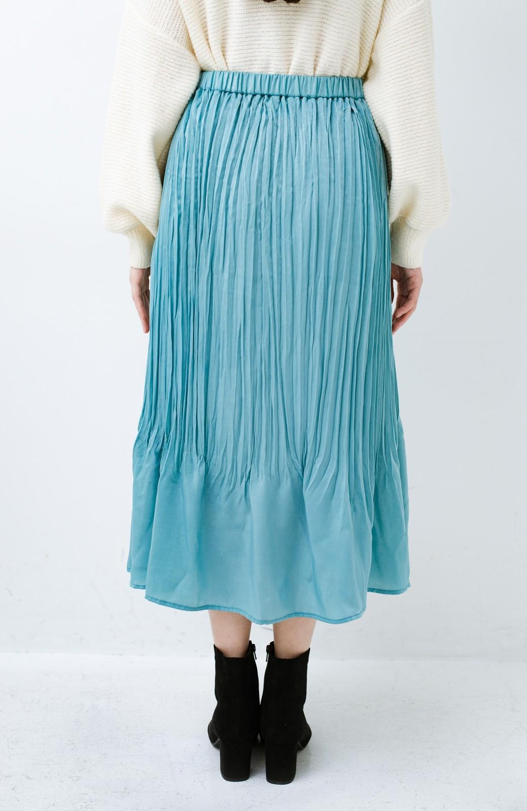 haco!  1枚でかわいいのはもちろん ワンピースとの重ね着にも便利なプリーツスカート <ミント>の商品写真9