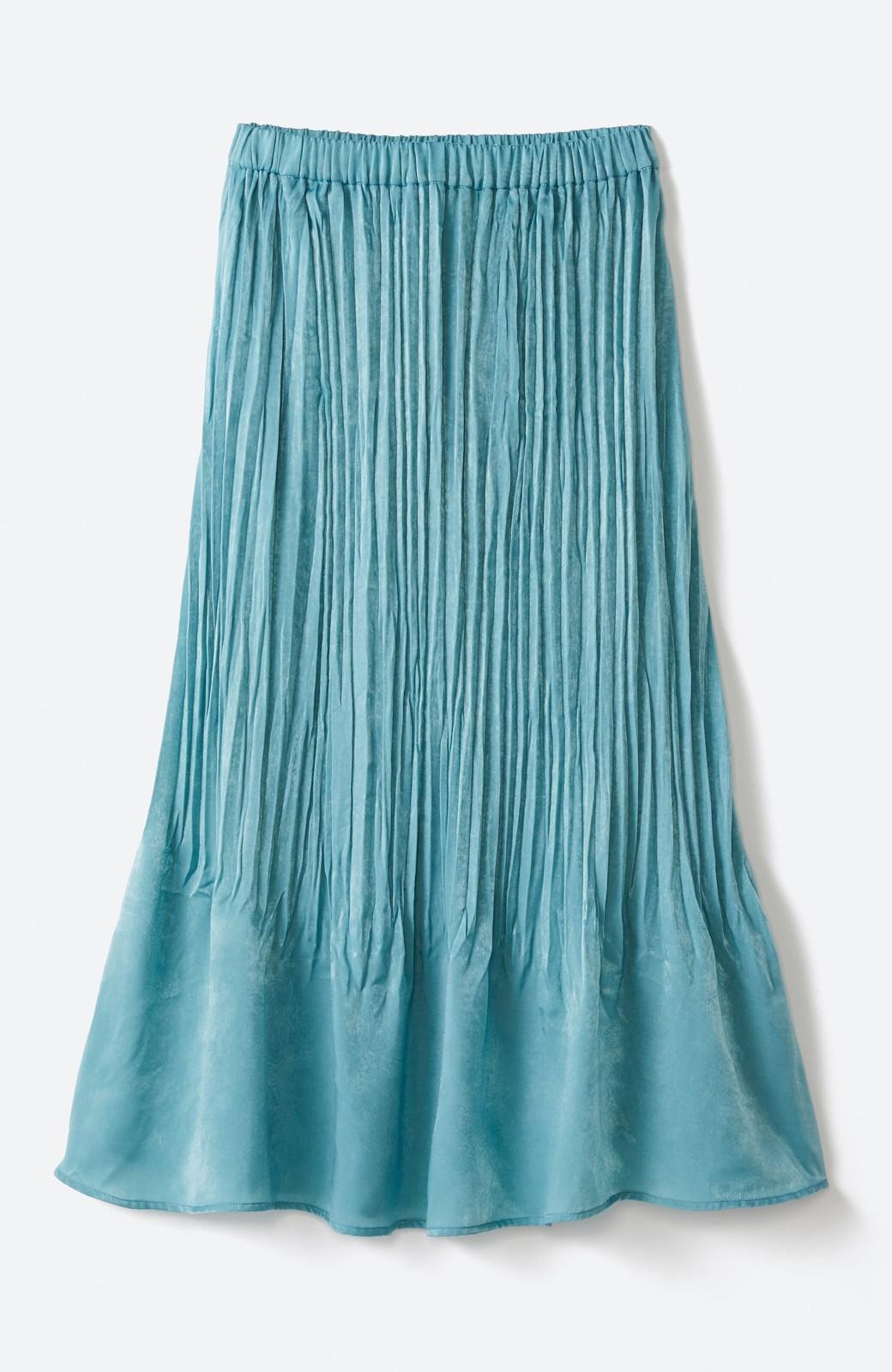 haco!  1枚でかわいいのはもちろん ワンピースとの重ね着にも便利なプリーツスカート <ミント>の商品写真16