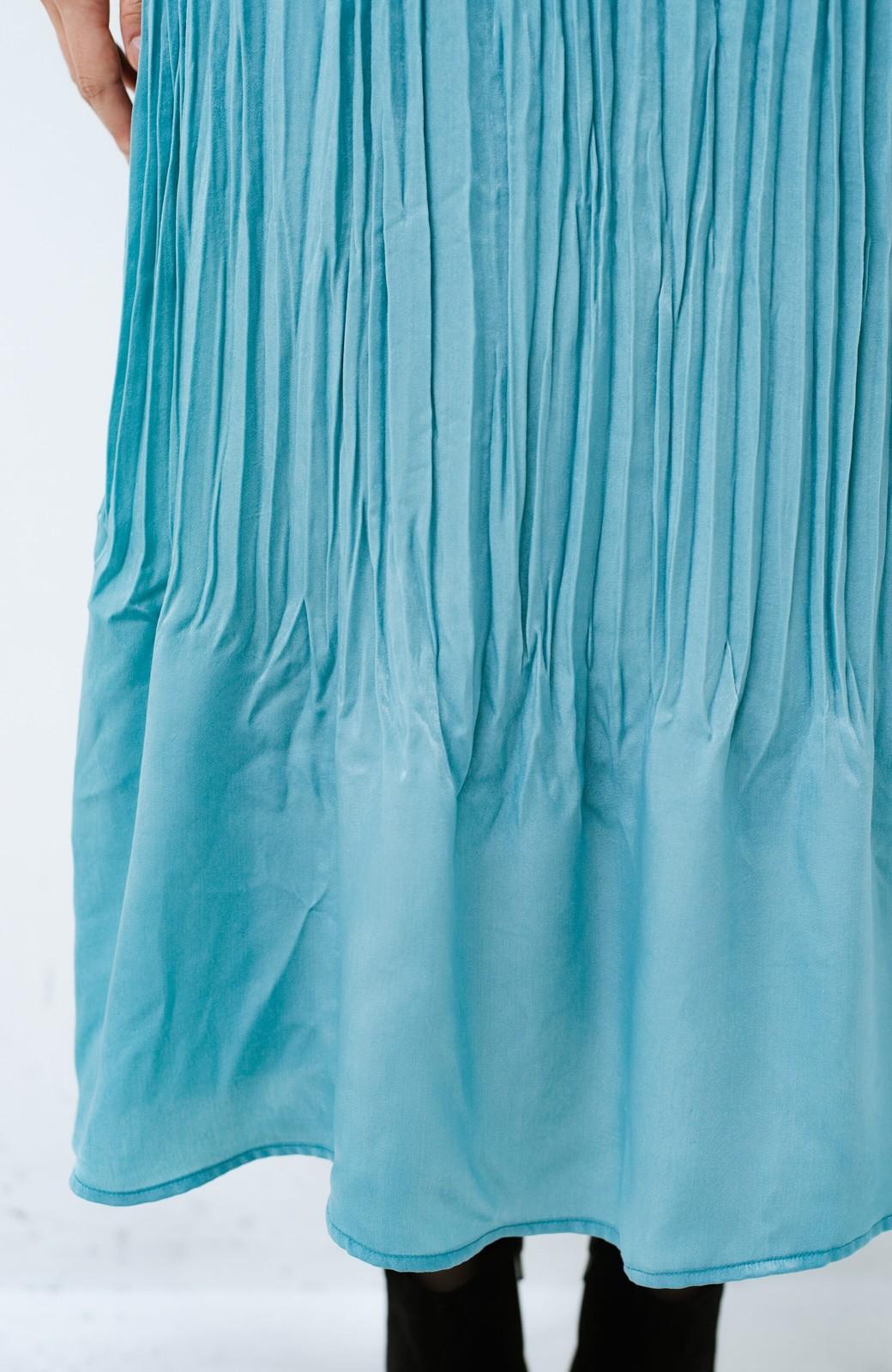 haco!  1枚でかわいいのはもちろん ワンピースとの重ね着にも便利なプリーツスカート <ミント>の商品写真5