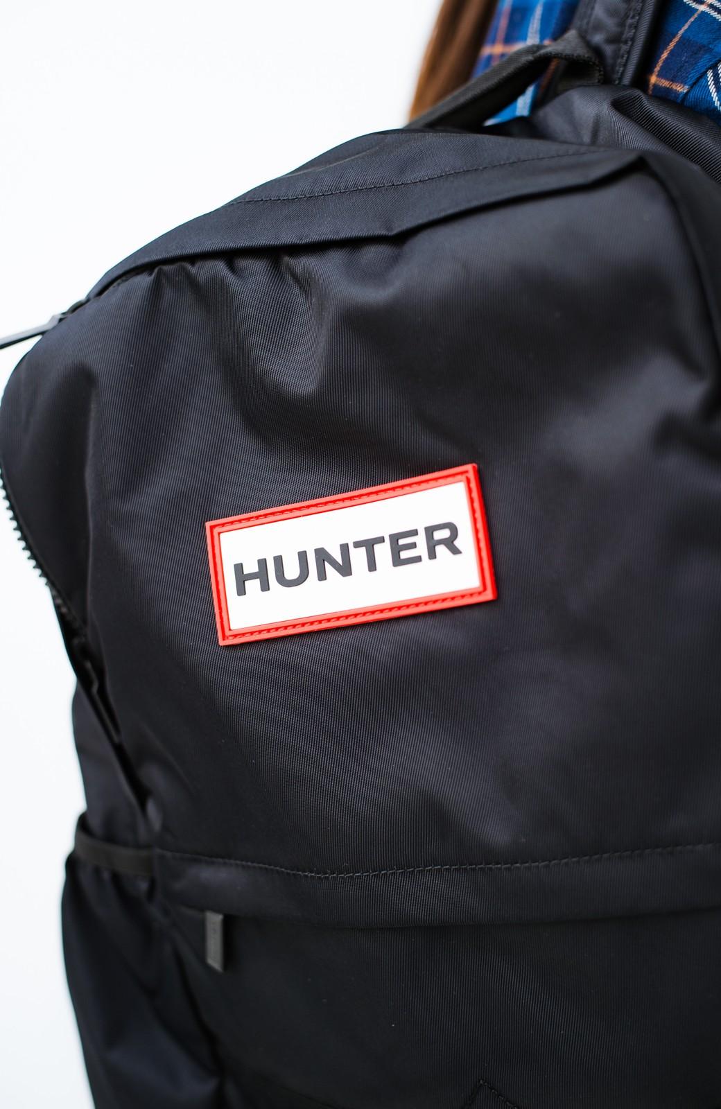 haco! HUNTER オリジナル ラージナイロンバックパック <ブラック>の商品写真2