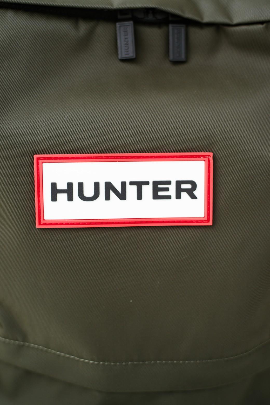 haco! HUNTER オリジナル ラージナイロンバックパック <ダークオリーブ>の商品写真4