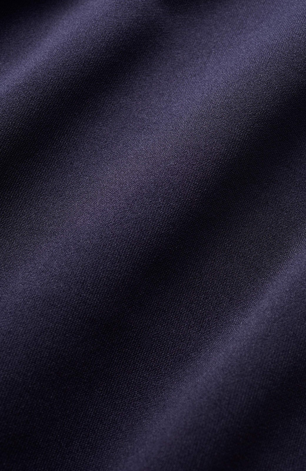 haco! 前はシンプルで着やすい&後ろ姿は最高にかわいい プリーツスウェットワンピース <ネイビー>の商品写真5