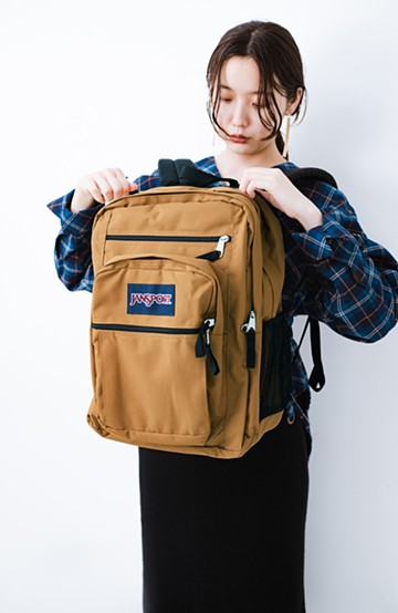 haco! JANSPORT BIG STUDENT <ブラウン>の商品写真