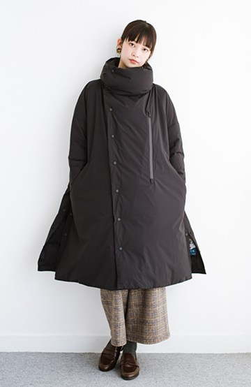 haco! F/CE.(エフシーイー) ×NANGA FT STAND DOWN COAT <ブラック>の商品写真