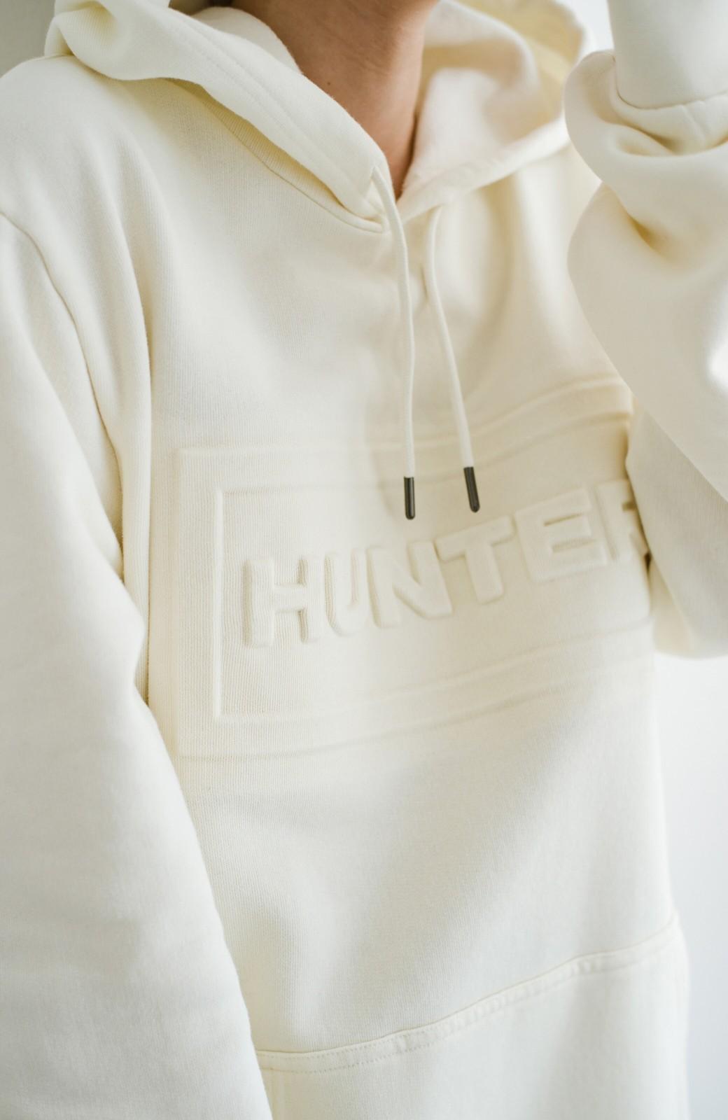haco! HUNTER MENS オリジナルフーディー <オフホワイト>の商品写真3