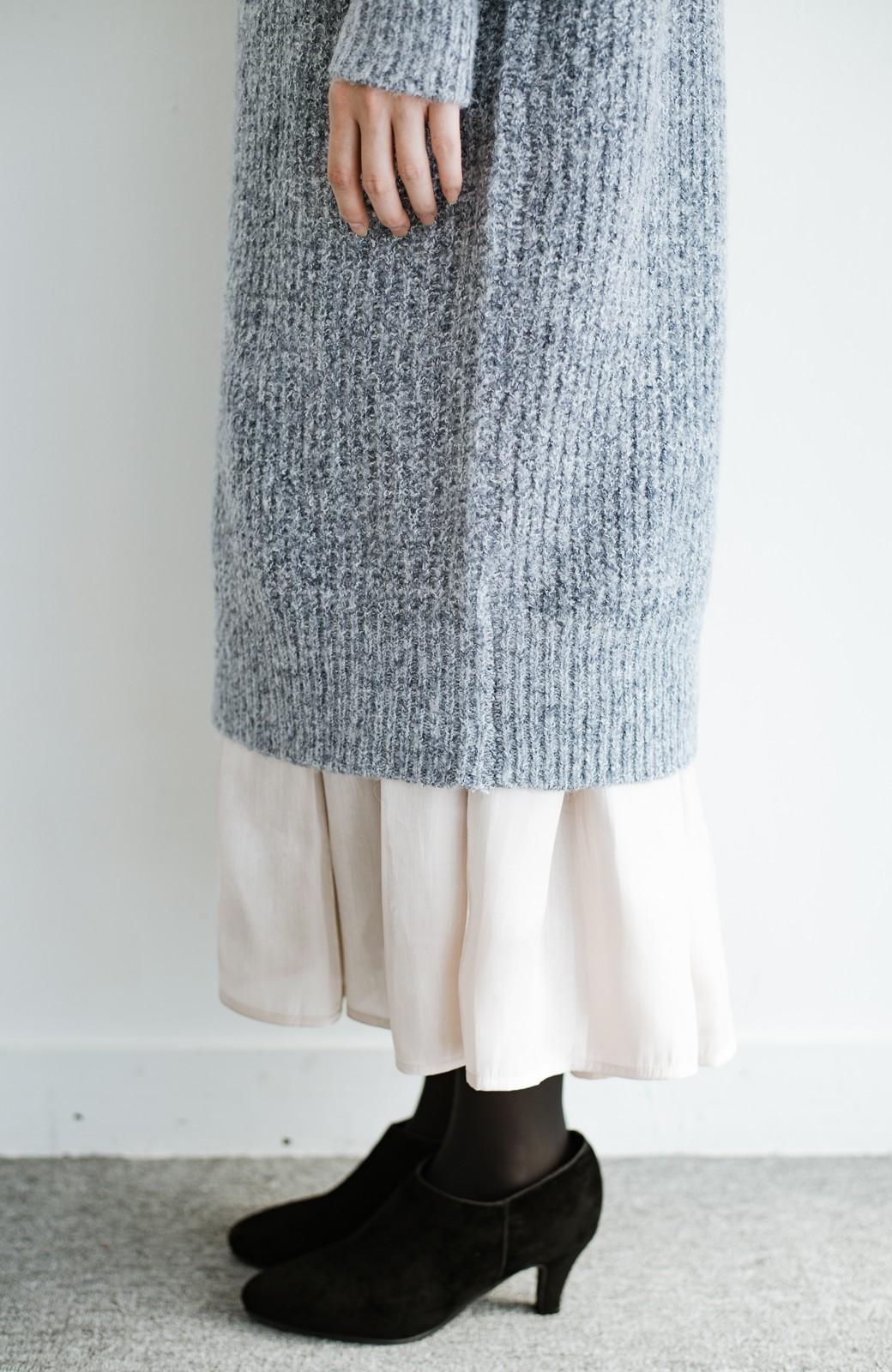 haco! 【人気のため新色追加!】1枚でも重ね着にも便利なキラキラ素材がかわいいロングスカート by laulea <アイボリー>の商品写真11