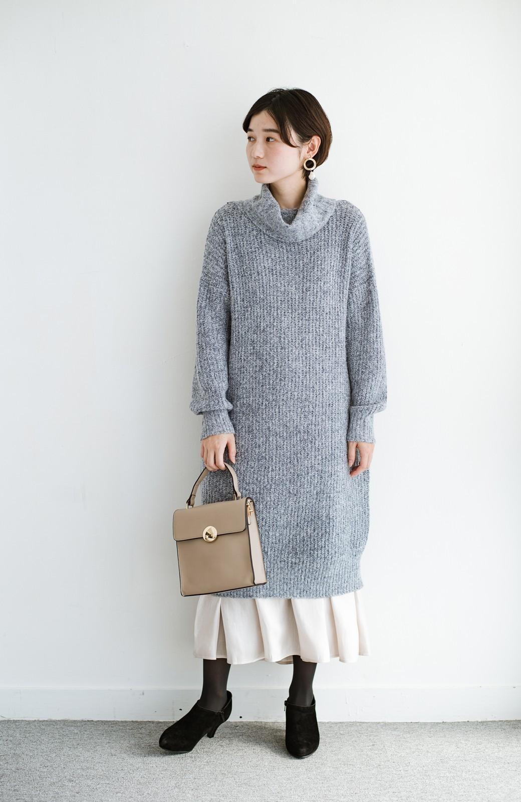 haco! 【人気のため新色追加!】1枚でも重ね着にも便利なキラキラ素材がかわいいロングスカート by laulea <アイボリー>の商品写真14