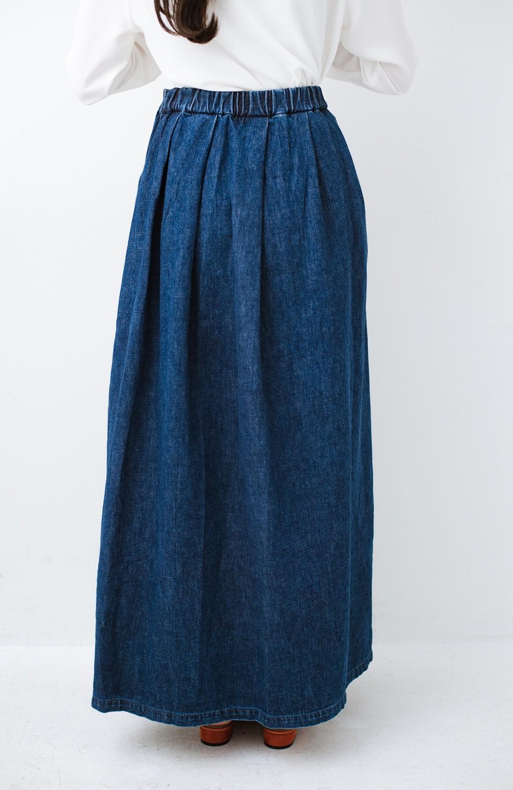 haco! Urvin 伊藤信子×sayurinishikuboコラボ tann'sスカート <インディゴブルー>の商品写真4