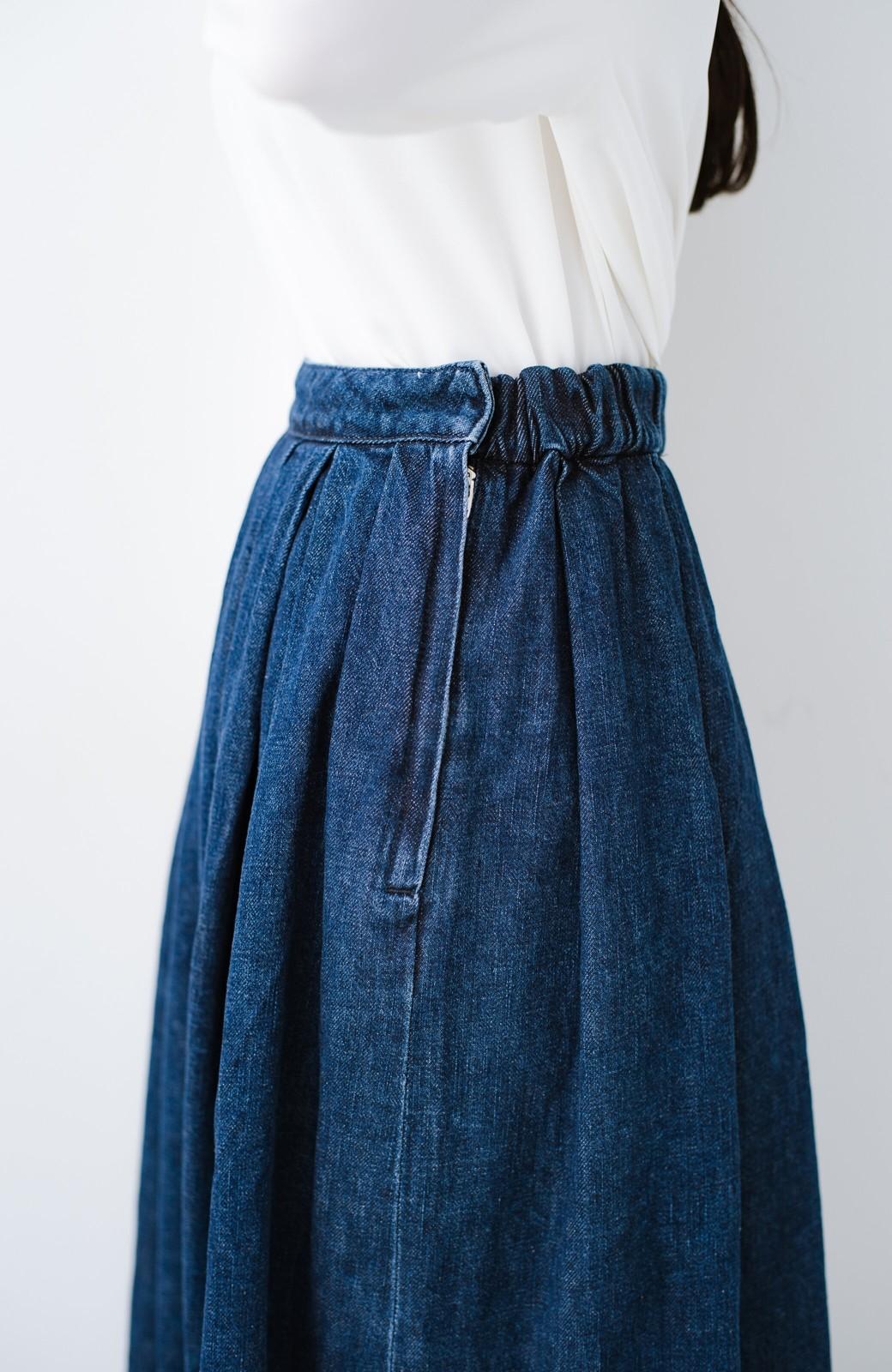 haco! Urvin 伊藤信子×sayurinishikuboコラボ tann'sスカート <インディゴブルー>の商品写真6