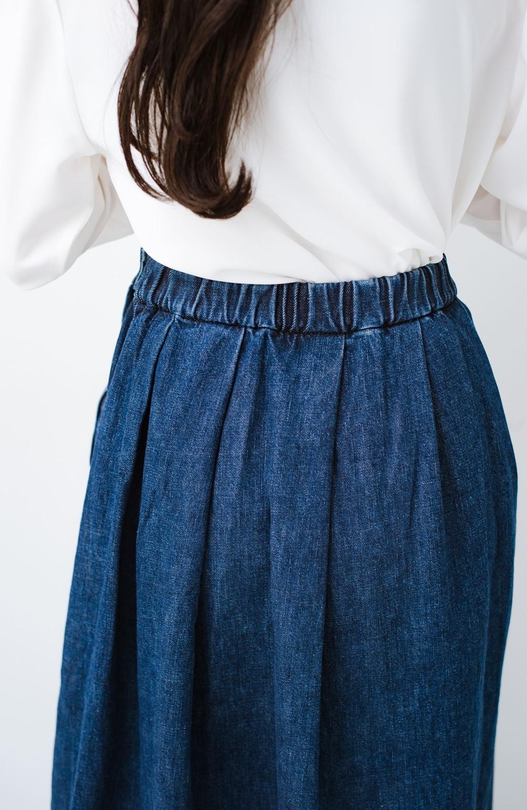 haco! Urvin 伊藤信子×sayurinishikuboコラボ tann'sスカート <インディゴブルー>の商品写真8
