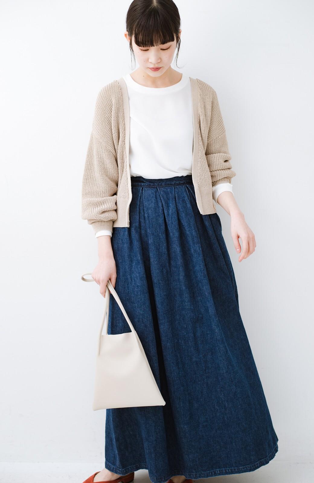 haco! Urvin 伊藤信子×sayurinishikuboコラボ tann'sスカート <インディゴブルー>の商品写真14