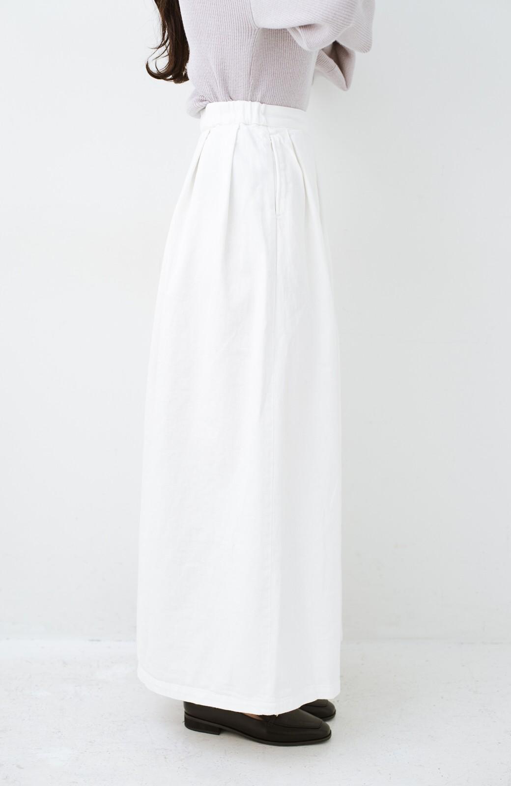 haco! Urvin 伊藤信子×sayurinishikuboコラボ tann'sスカート <ホワイト>の商品写真3