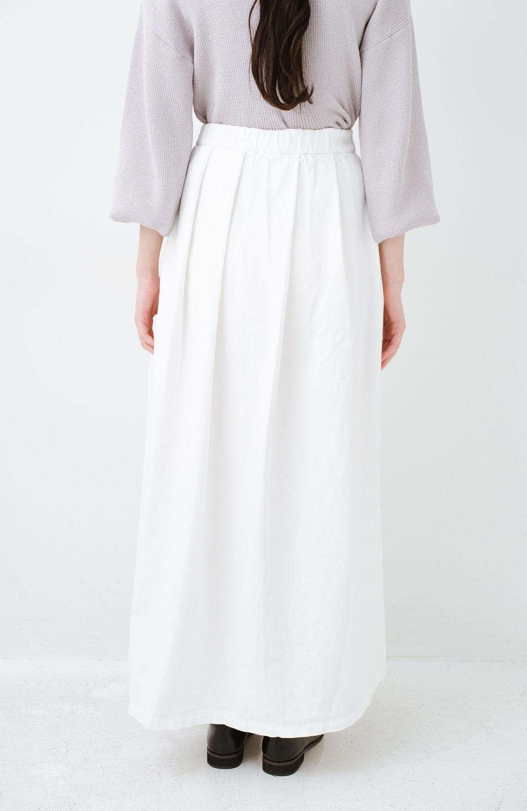 haco! Urvin 伊藤信子×sayurinishikuboコラボ tann'sスカート <ホワイト>の商品写真5