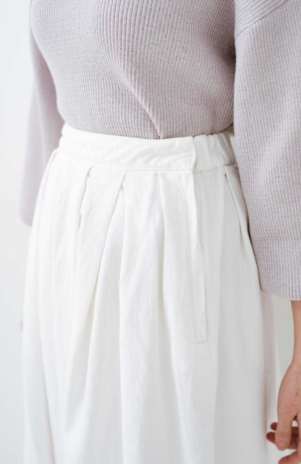 haco! Urvin 伊藤信子×sayurinishikuboコラボ tann'sスカート <ホワイト>の商品写真6