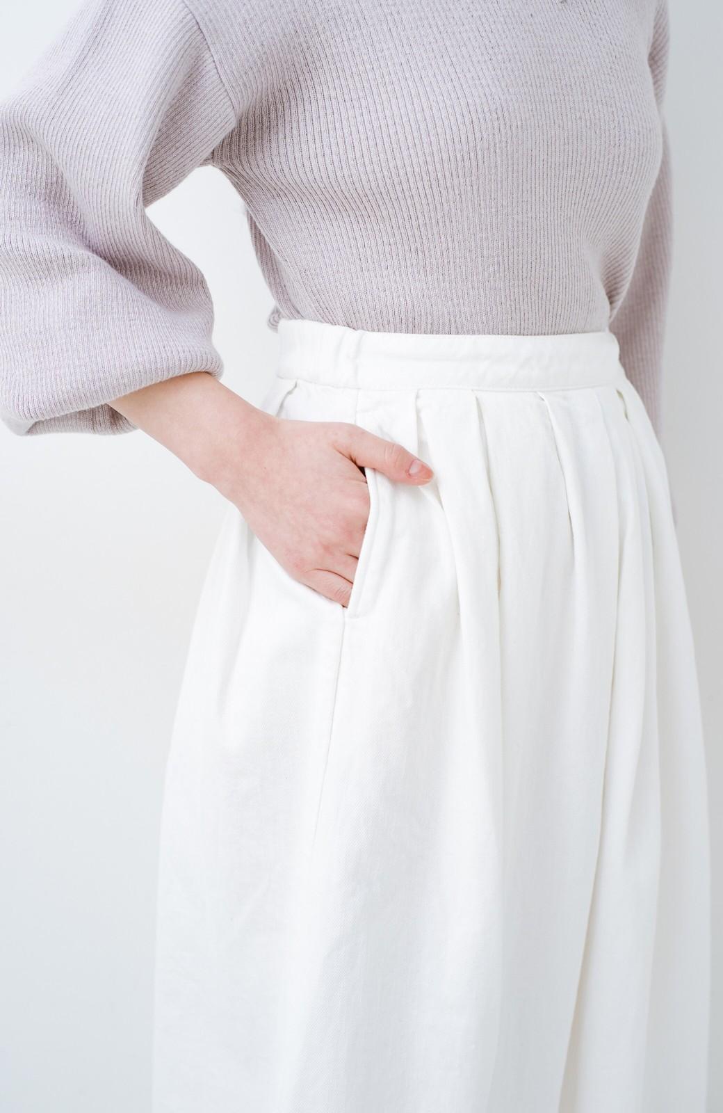haco! Urvin 伊藤信子×sayurinishikuboコラボ tann'sスカート <ホワイト>の商品写真7