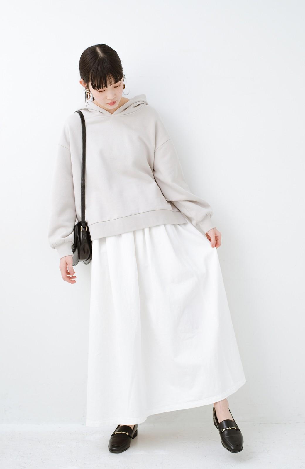 haco! Urvin 伊藤信子×sayurinishikuboコラボ tann'sスカート <ホワイト>の商品写真1