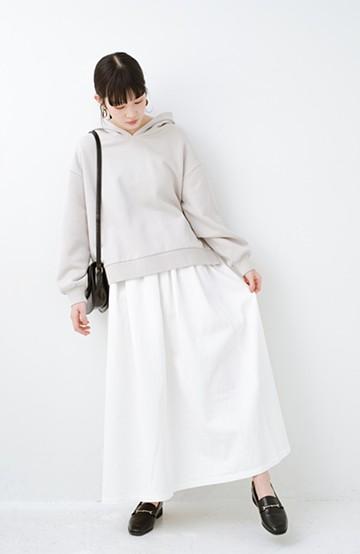 haco! Urvin 伊藤信子×sayurinishikuboコラボ tann'sスカート <ホワイト>の商品写真