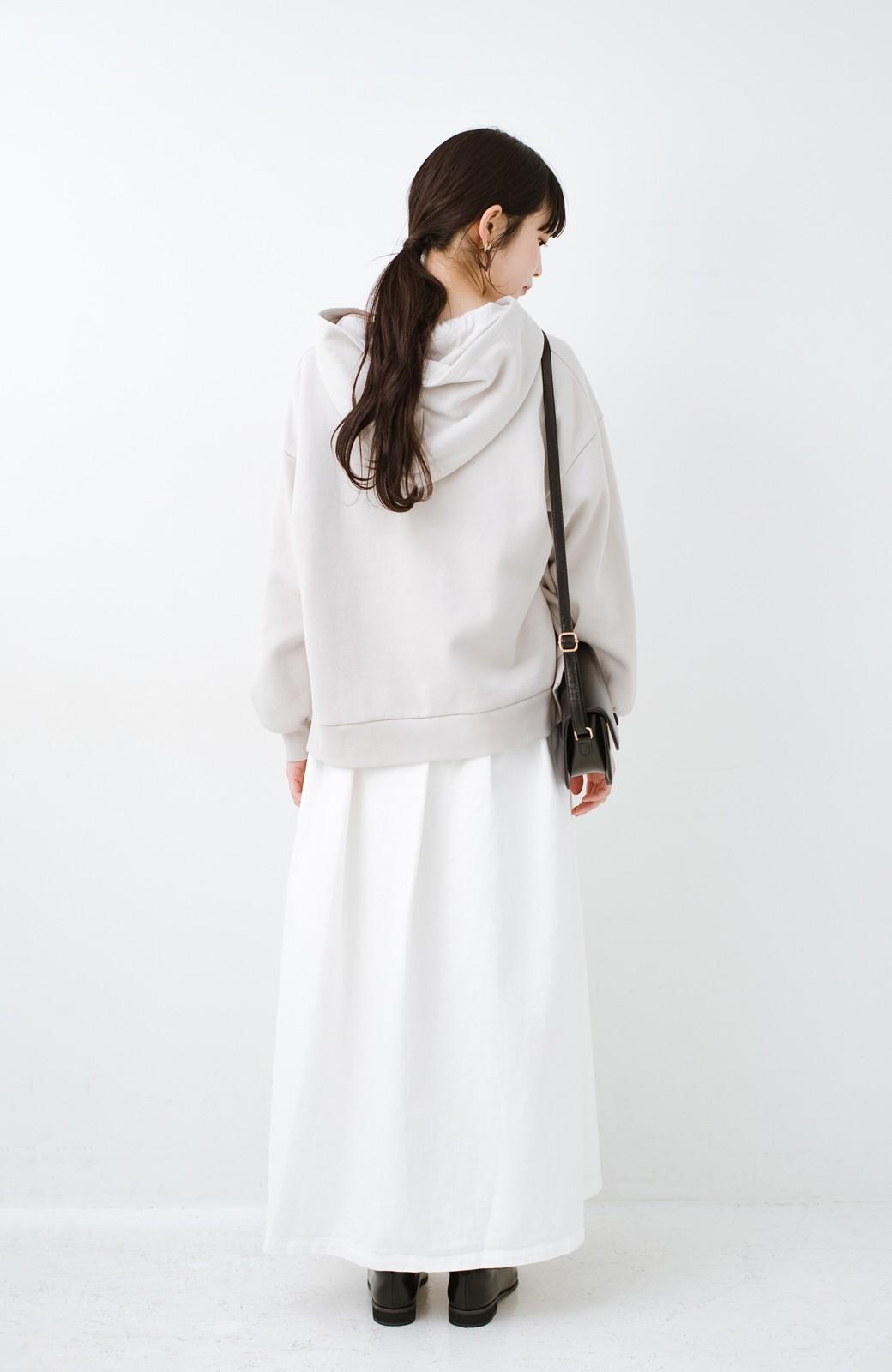 haco! Urvin 伊藤信子×sayurinishikuboコラボ tann'sスカート <ホワイト>の商品写真11