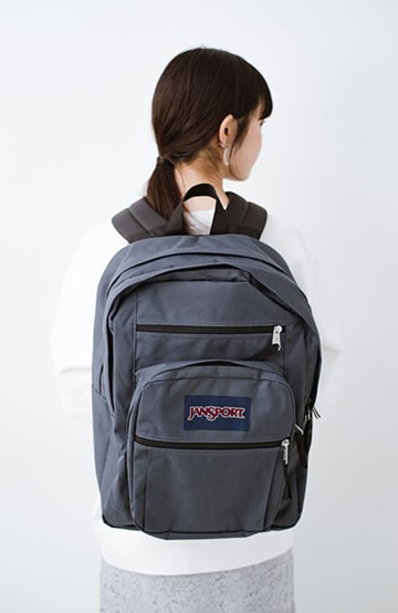 haco! JANSPORT BIG STUDENT <ダークグレー>の商品写真