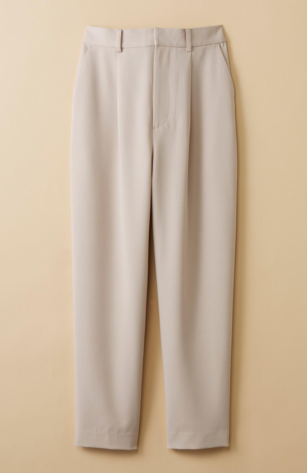 haco! いざというとき困らないための 大人のフォーマルジャケット・パンツ・スカート3点セット by que made me <ベージュ>の商品写真4