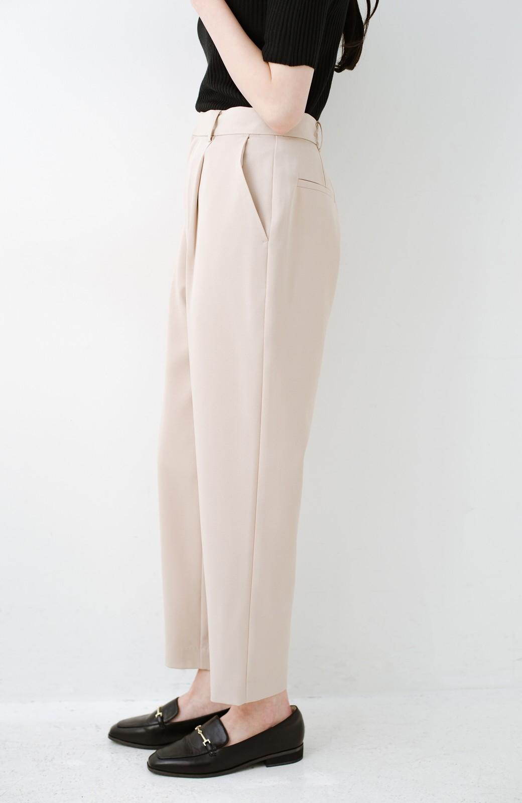 haco! いざというとき困らないための 大人のフォーマルジャケット・パンツ・スカート3点セット by que made me <ベージュ>の商品写真31