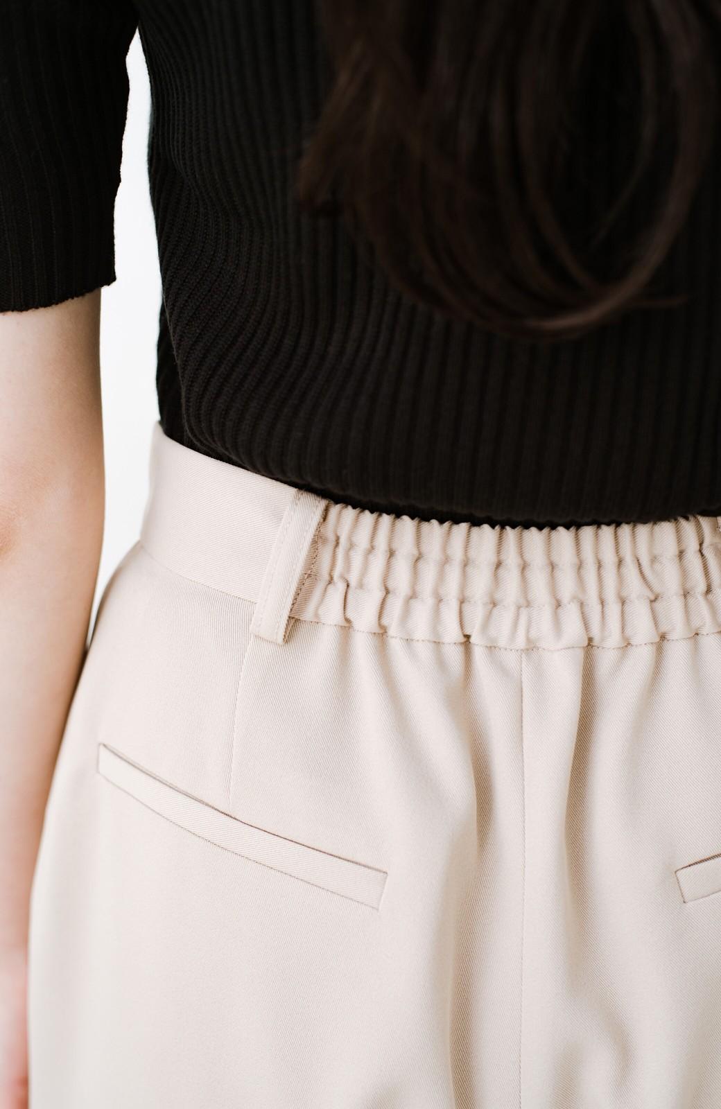 haco! いざというとき困らないための 大人のフォーマルジャケット・パンツ・スカート3点セット by que made me <ベージュ>の商品写真33